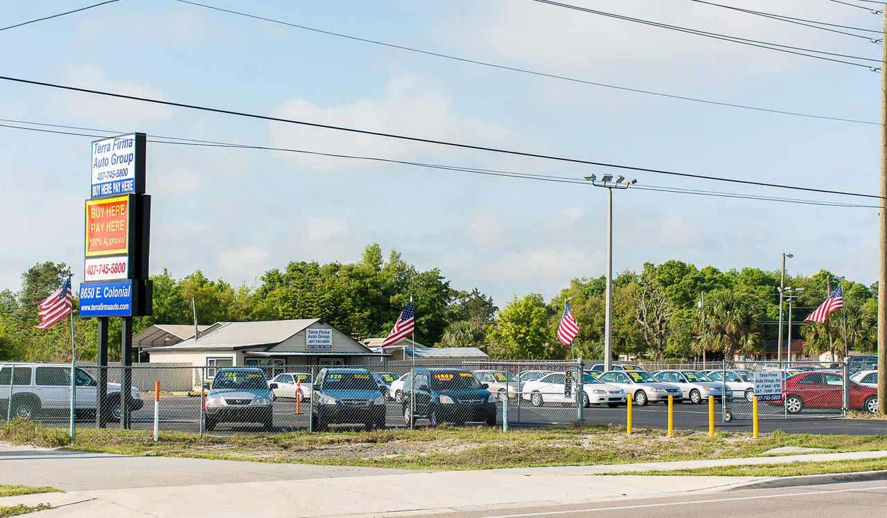 Buy Here Pay Here Orlando >> Terra Firma Auto Group Buy Here Pay Here Orlando